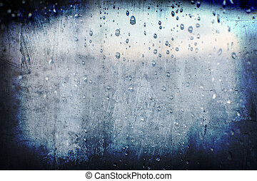 grunge abstract droplet rain background for multiple uses