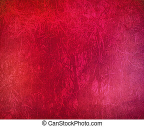 Grunge Pink Streaked Abstract Background