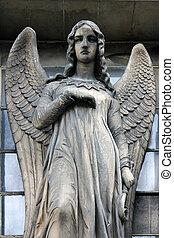 Guardian angel, Madeleine church in Paris