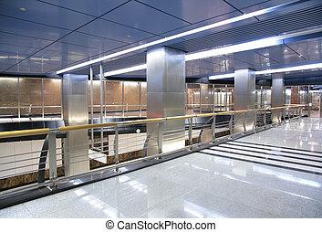 hall of subway station