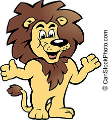 Proud Lion King, there welcomes You