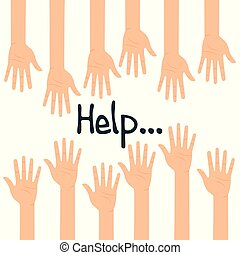 hands people help icon