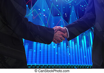 Partnership and finance concept