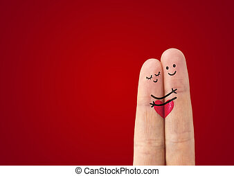 ? happy couple in love