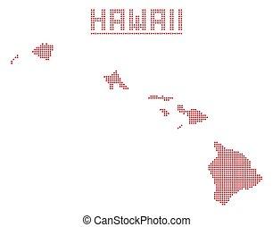 Hawaii Dot Map