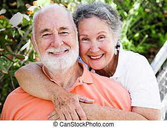 Healthy Happy Senior Couple