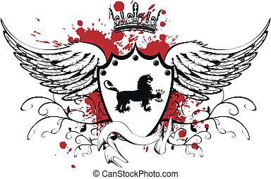 heraldic lion 7