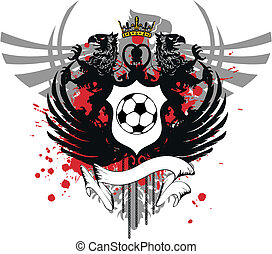 heraldic soccer coat of arms 1