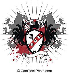 heraldic soccer coat of arms 10