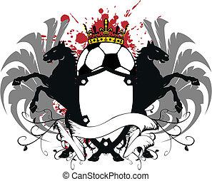 heraldic soccer coat of arms 2