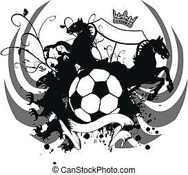 heraldic soccer coat of arms 4
