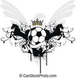 heraldic soccer coat of arms 5