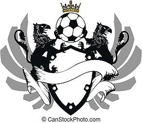 heraldic soccer coat of arms 7
