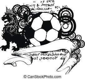 heraldic soccer coat of arms crest5