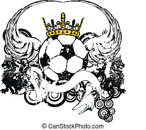 heraldic soccer coat of arms crest6