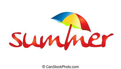 Holidays - summer and sun shade