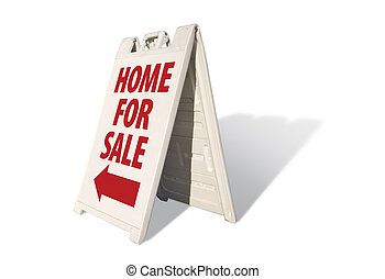 Home For Sale Tent Sign
