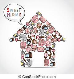 home furniture card