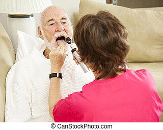 Home Health Nurse - Say Ah
