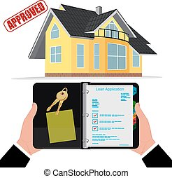 home mortgage, loan approved