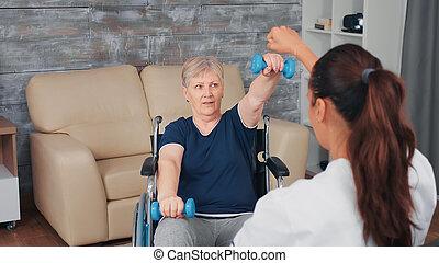 Home rehabilitation training
