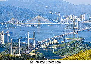Hong Kong bridges