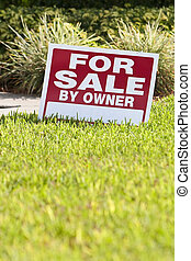 House For Sale By Owner Sign