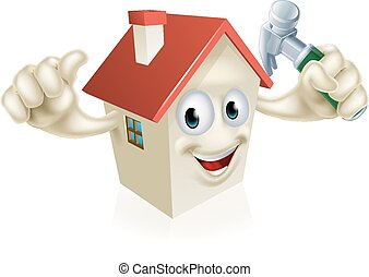 House Holding Hammer