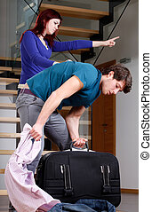 Husband moving out