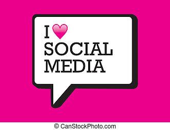 I love social media bubble