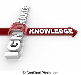 Ignorance vs Knowledge - Education Wins