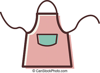 Illustration of an apron