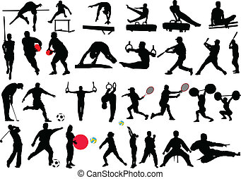 different sport collection - vector