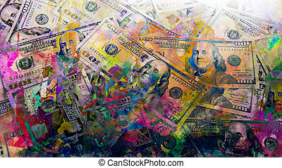 image of a dollar in the foreign exchange market