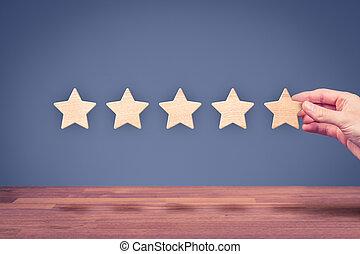 Increase rating