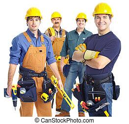 contractors workers