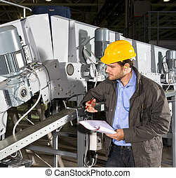 Industrial equipment check