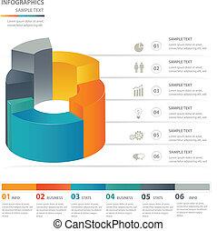 Infographics design elements template