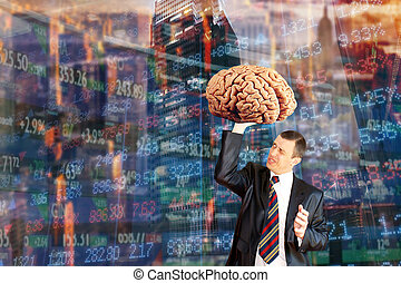 Innovative ideas broker on the stock exchange