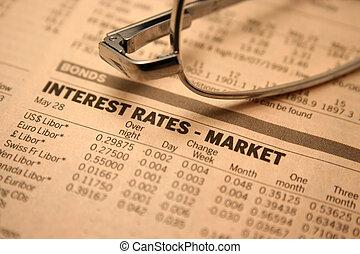 Interest rates - market