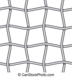 Continuous iron net