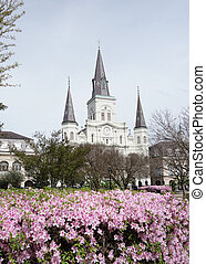 Jackson Square in the French Quarter of New Orleans