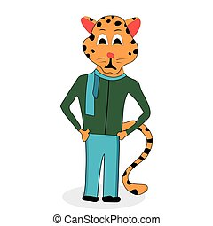 Jaguar character design