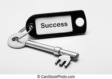 Key fob labelled success