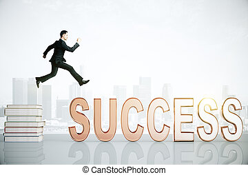 knowledge to success concept