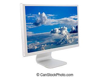 LCD computer monitor