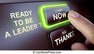 Leadership Team Development. Be a Leader Now