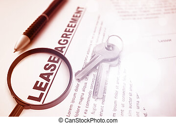 Lease Agreement, For Real Estate