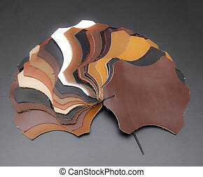 leather color scale