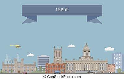 Leeds, city in West Yorkshire, England